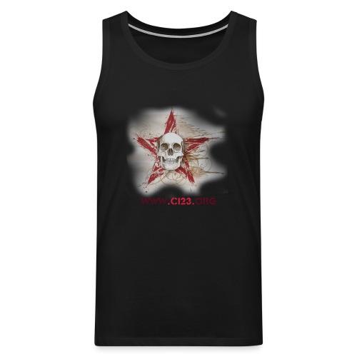red skull warrior - Men's Premium Tank Top