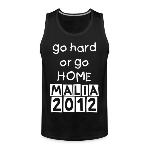 GHGH TANK WITH NAME + NO - Men's Premium Tank Top