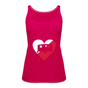 Caravan Heart - Women's Premium Tank Top