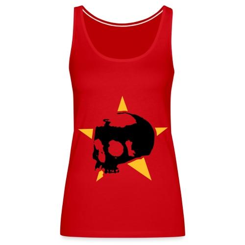 Death Star red - Frauen Premium Tank Top