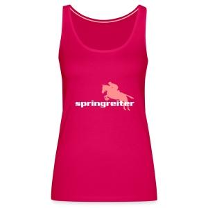 Springreiter - Frauen Premium Tank Top