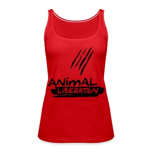 Womens Tank-Top  'Animal Liberation' BL - Frauen Premium Tank Top