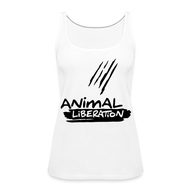 Womens Tank-Top  'Animal Liberation' BL