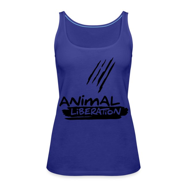 Womens Tank-Top  'Animal Liberation' BL