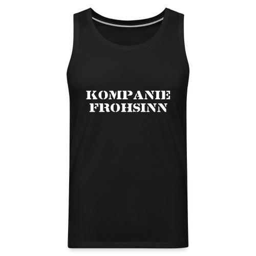 Kompanie Frohsinn - Männer Premium Tank Top