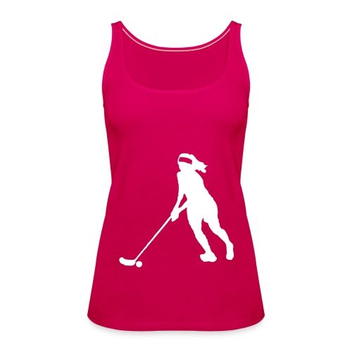Lady Pink - Frauen Premium Tank Top