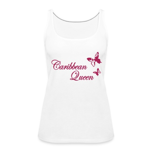 Caribbean Queen Butterfly - Frauen Premium Tank Top