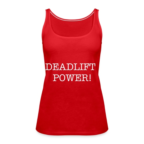 Deadlift singlet - Premium singlet for kvinner
