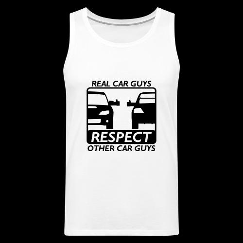 Real car guys - schwarzer Druck - Männer Premium Tank Top