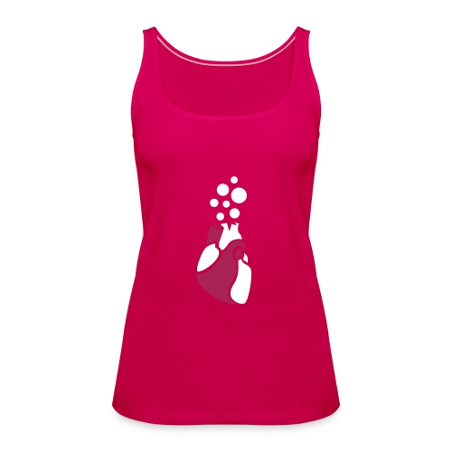 Bubble Heart - Women's Premium Tank Top