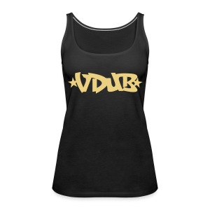 Vdub Ladies Racerback top - Women's Premium Tank Top