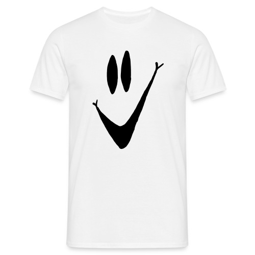 Simple Smiley Face t-shirt - Men's T-Shirt