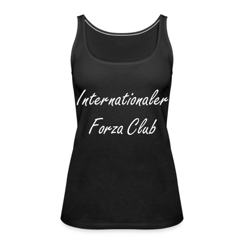IFC Schulterfreies Tank Top - Frauen Premium Tank Top