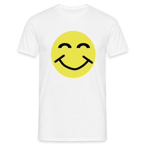 Smiley Face 2 colour - Men's T-Shirt