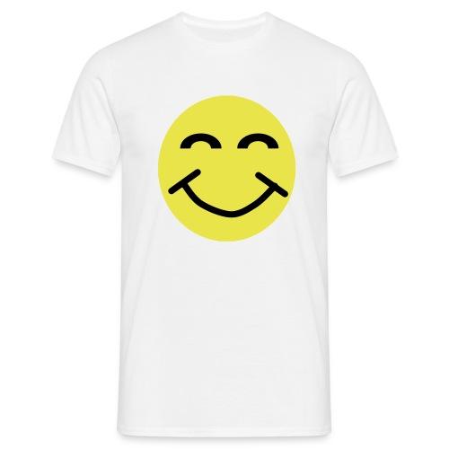 Smiley Face 2 colour - Men's T-Shirt