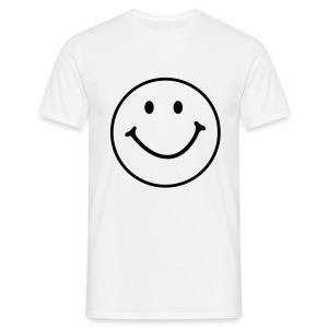 Smiley Face 1 colour - Men's T-Shirt