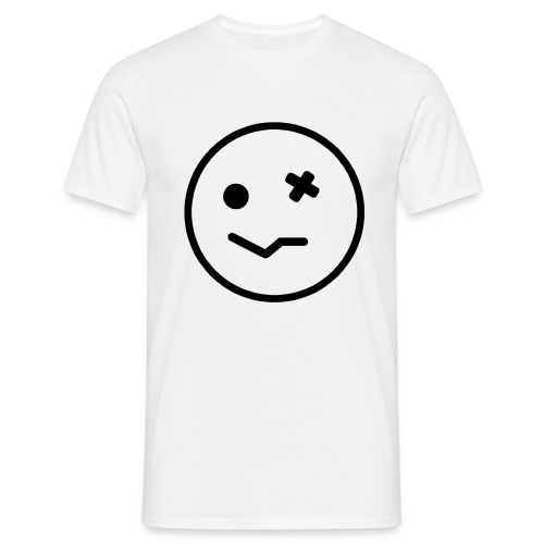 Sozzled Smiley Face - Men's T-Shirt