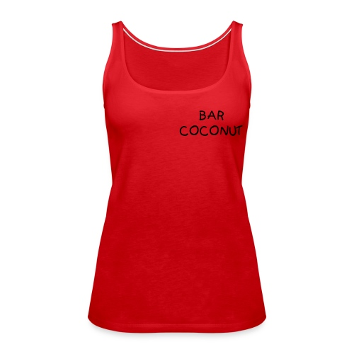 COCONUT-Top - Frauen Premium Tank Top