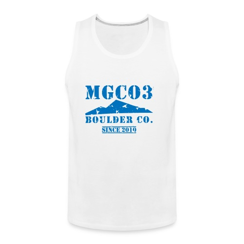 Used Boulder Co. - Men's Premium Tank Top