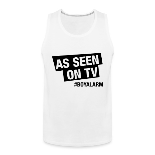 AS SEEN ON TV - Muskelshirt (m) - Männer Premium Tank Top