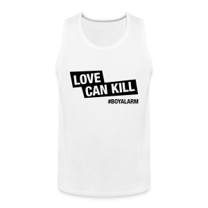 LOVE CAN KILL - Muskelshirt (m) - Männer Premium Tank Top