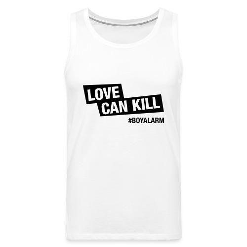 LOVE CAN KILL - Muskelshirt (m) - Männer Premium Tank Top