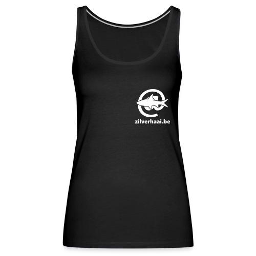 Zilverhaai Damestopje - Vrouwen Premium tank top