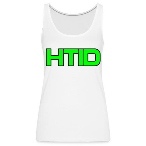 HTID - Women's White Shoulder Free Tank Top - Women's Premium Tank Top