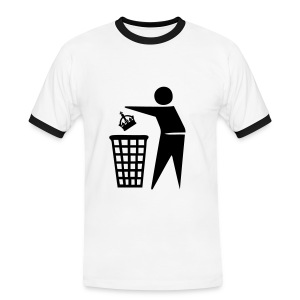 Bin the Monarchy - Men's Ringer Shirt
