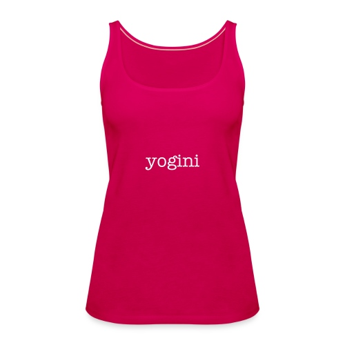 Yoga T-shirt yogini - Women's Premium Tank Top