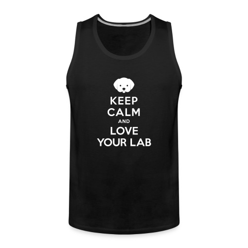 Keep Calm - Sport with Lab - Man - Men's Premium Tank Top