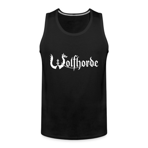 Wolfhorde New Logo - Men's Premium Tank Top
