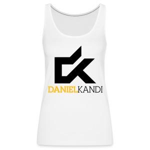 Kandi Tank Top White - Women's Premium Tank Top