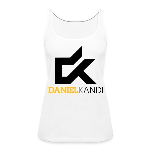 Kandi Tank Top White - Women's Premium Tank Top