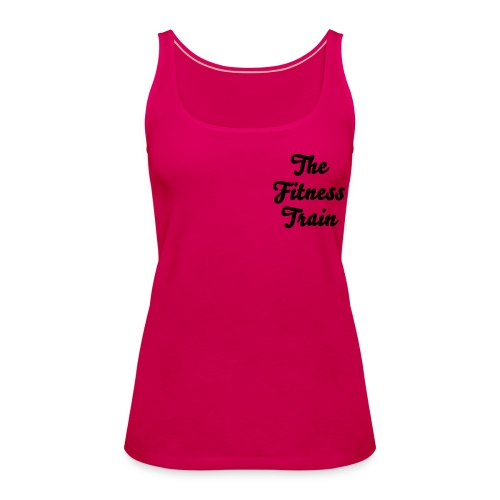 Fitness Train Tank T shirt - Women's Premium Tank Top