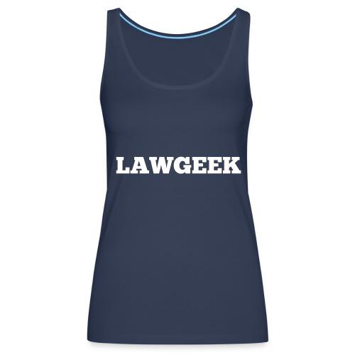 Lawgeek - Women's Premium Tank Top