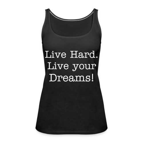 Live Hard Girls - Premium singlet for kvinner