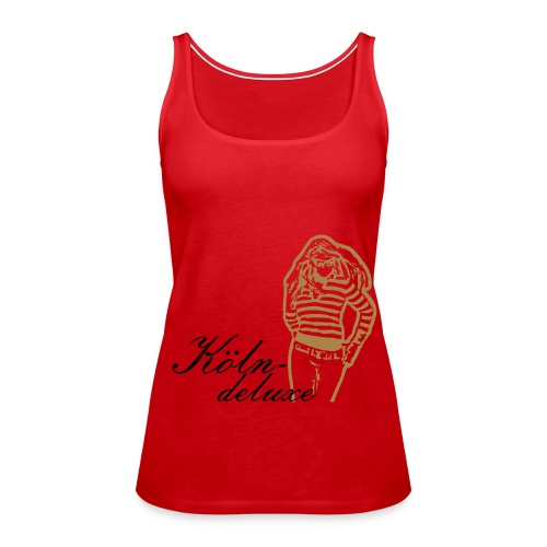 K-D Spaghetti Top Woman - Frauen Premium Tank Top