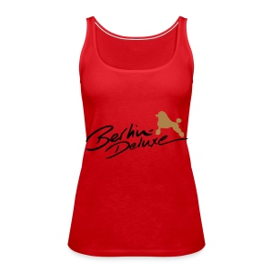 B-D Spaghetti Top Woman - Frauen Premium Tank Top