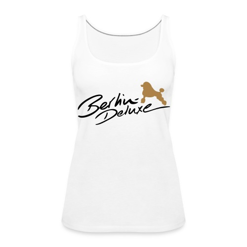 B-D Schulterfreies Tank Top Woman - Frauen Premium Tank Top