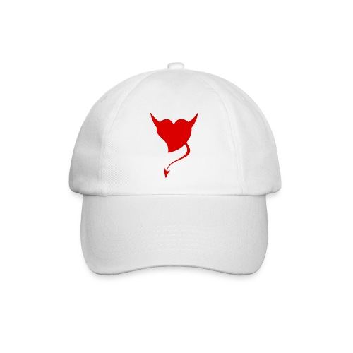 gorra corazon demonio - Gorra béisbol