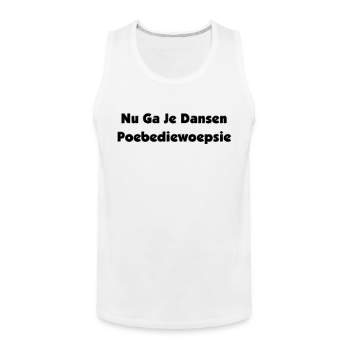 Exclusive jumpstyle - Mannen Premium tank top