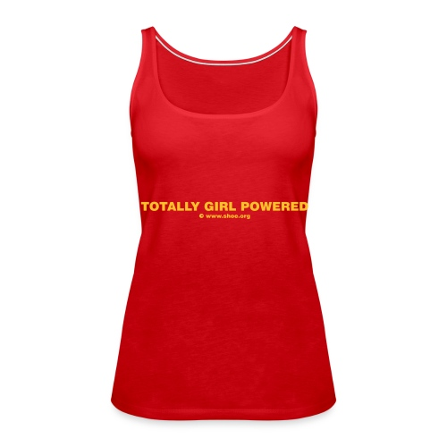Lesben T-Shirt Shop: Spaghettiträger Oberteil für lesbische Frauen - Frauen Premium Tank Top