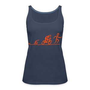 Triathlon Top - Frauen Premium Tank Top