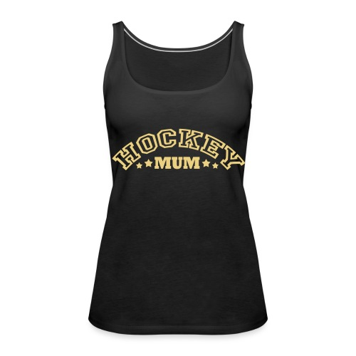 Hockey Mum (arched text)