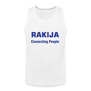 Majica Rakija Connecting People - Männer Premium Tank Top