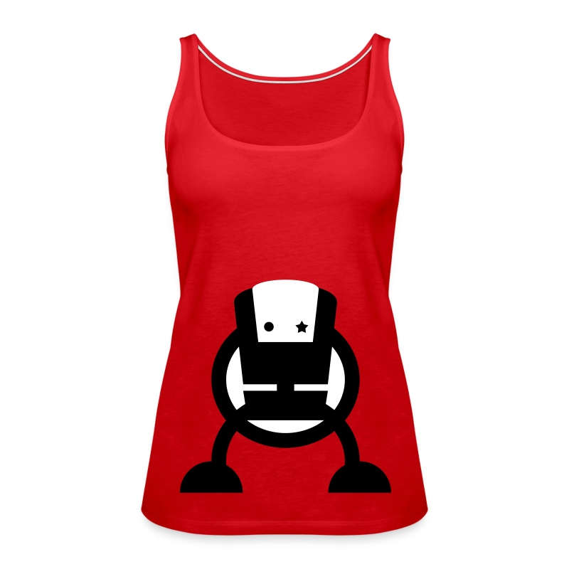 "Womens Tank Top ""Robot"" - Women's Premium Tank Top"