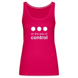 Control • flex white - Débardeur Premium Femme