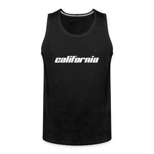 "Tank-Top ""california"" oliv - Männer Premium Tank Top"