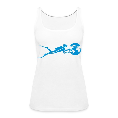 Tank top Cousteau Divers - Women's Premium Tank Top